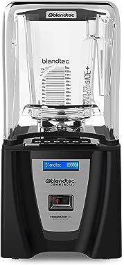 Blendtec Connoisseur 825 Commercial Blender with WildSide+ Jar (96 oz), Includes Blendtec Q Series Sound Enclosure, Strongest