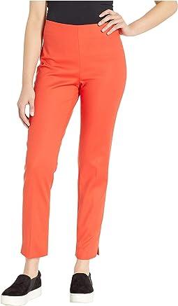 Cotton Doubleweave Vented Cuff Pants
