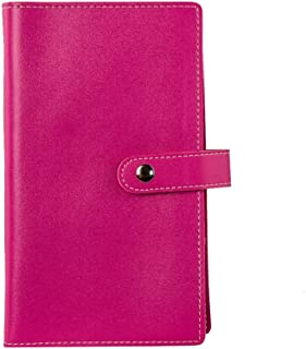 Tenn Well Business Card Books, Luxury Soft PU Leather Business Card Holders for 240 Business Card, Credit Card, ID Card (Rose)