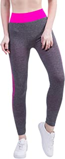 KINDOYO Ladies High Waist Yoga Pants Running Tights,Women's Plus Size Leggings for Gym & Workout