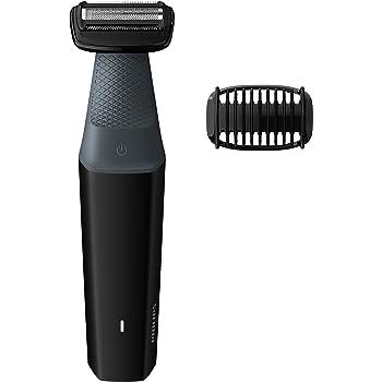 Philips BG3006/15 Bodygroomer - Skin Friendly, Showerproof, Body Hair Shaver and Trimmer (Black)