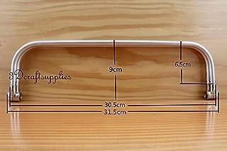 FidgetFidget Bag 12 inch Metal Frame Aluminum Tubular Internal Hinge Frame Purse Frame Z107