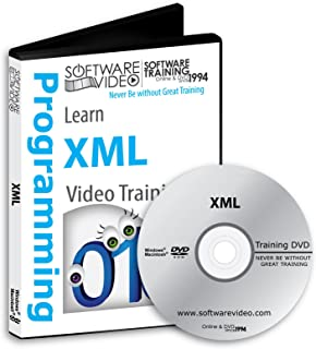 Software Video Learn XML Training DVD Sale 60% Off training video tutorials DVD Over 5 Hours of Video Training