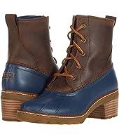 Saltwater Heel Leather