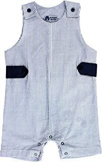 RuggedButts Baby/Toddler Boys Jon Jon Romper One-Piece Overall Shortall