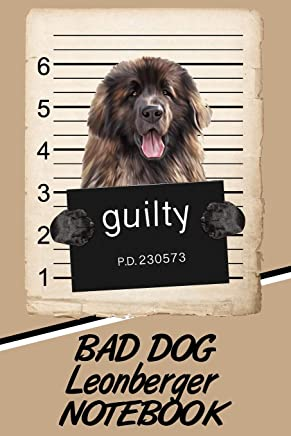 Bad Dog Leonberger Notebook