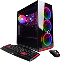 CYBERPOWERPC Gamer Xtreme VR Gaming PC, Intel Core i5-9400F 2.9GHz, NVIDIA GeForce RTX 2060 Super 8GB, 8GB DDR4, 512GB PCI-E NVMe SSD, WiFi Ready & Win 10 Home (GXiVR8480A2, Black)