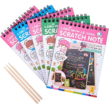 Depesche 10708 Mini Magic Scratch Book - Libro para