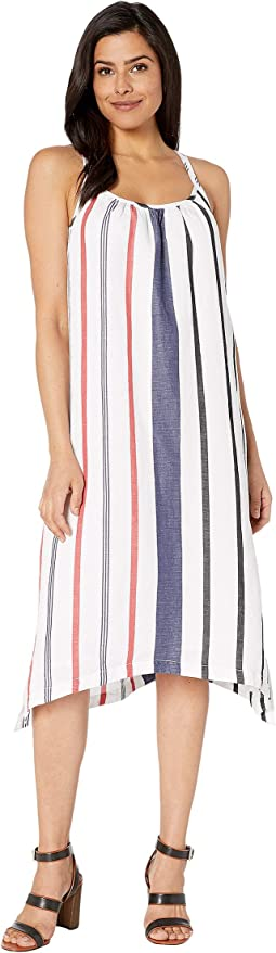 Amalia Stripe Midi Sundress