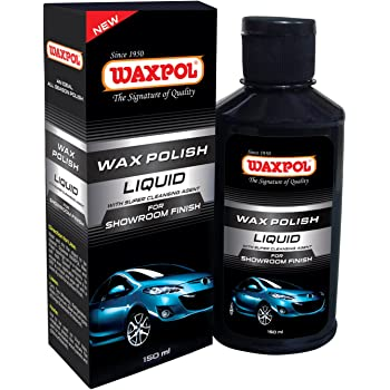 Waxpol Showroom Finish Liquid Car Polish (150 ml)