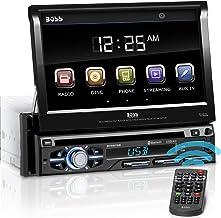 BOSS Audio Systems BV9979B Car DVD Player – Single Din, Bluetooth Audio &..