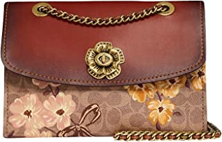 Women's Prairie Coated Canvas Signature Parker Shoulder Bag