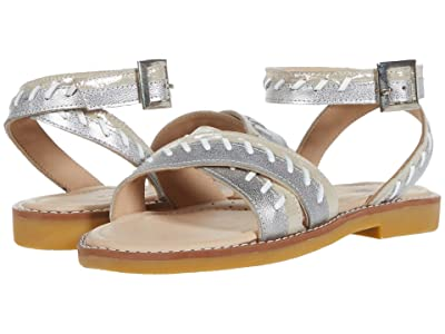 Elephantito Antibes Sandal (Toddler/Little Kid/Big Kid) (Metallic) Girls Shoes