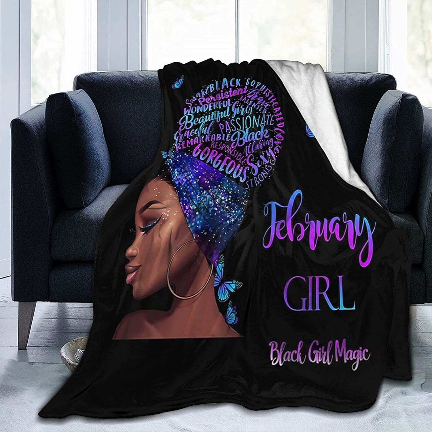 SYUTZSING African American Woman Black Al sold out. Roots History Fle Limited Special Price Flannel