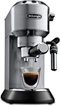 De'Longhi Dedica Style EC 685.M Espresso Siebträgermaschine, Espressomaschine mit..