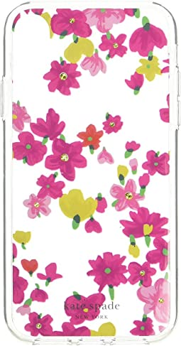 Jeweled Marker Floral Phone Case for iPhone XS