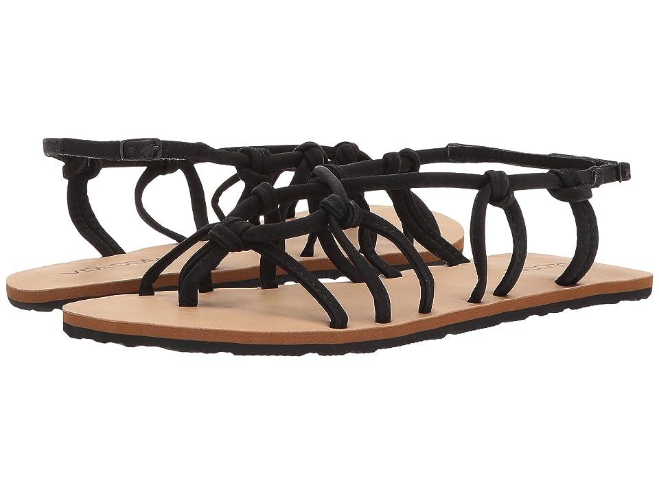 Volcom Whateversclever Sandals (Black) Women