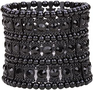 Best black sparkle cuff bracelet Reviews