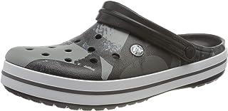 Crocs Crocband Ombreblock Clog, Sabot Mixte Adulte, Noir Blanc, 48-49 EU