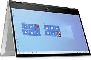 HP – PC Pavilion X360 14-dw0004nl Notebook Convertibile, Intel Core i5-1035G1, RAM 8 GB, SSD 256 GB, Grafica Intel UHD, Wi...