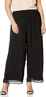 Alex Evenings Women's Straight Leg Dress Pant (Petite Regular Plus Sizes)