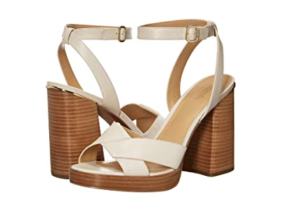 MICHAEL Michael Kors Fallon Sandal (Light Cream) Women