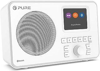 Pure Elan One Portable DAB Radio with Bluetooth - White