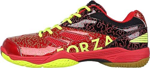 Forza Chaussures de Badminton Homme fz Court Flyer 302610 Rouge