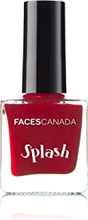 Faces Canada Splash Nail Enamel, Royal Ruby 24, 8 ml
