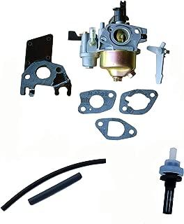 Everest Brand Compatible with Honda GX160 5.5HP Adjustable Carburetor with Gaskets Insulator Fuel Filter & Fuel Line Tiller Pressure Washer Compactor