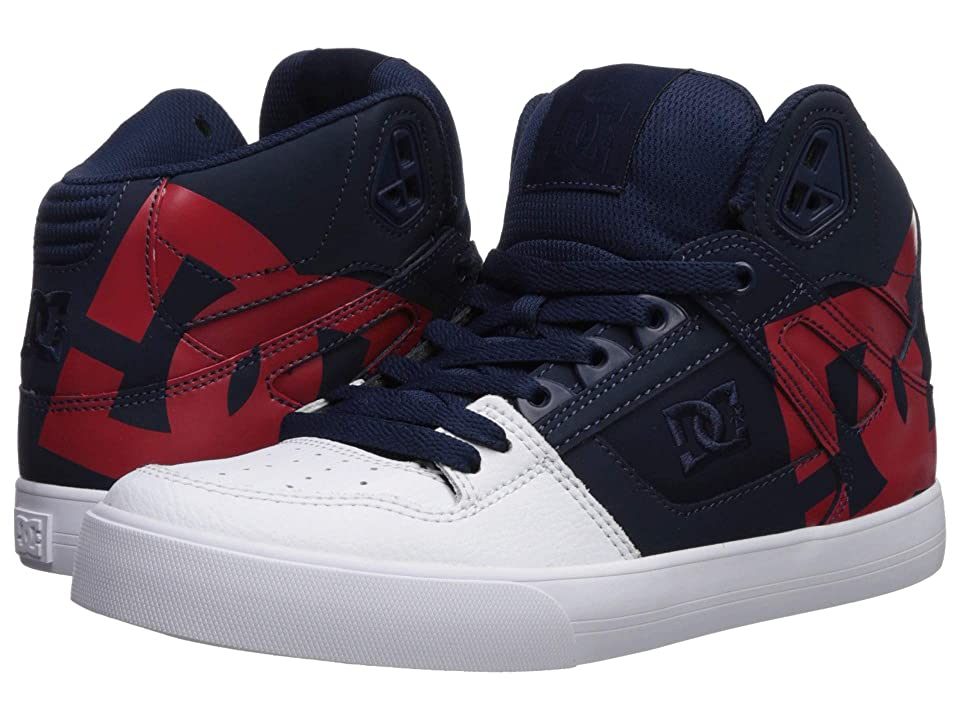 DC Pure High-Top WC SP (Navy/Red) Men