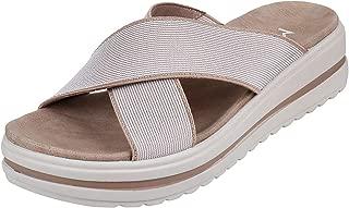 Metro Women's Beige Fashion Sandals-7 UK/India (40 EU) (41-3440-20-40)