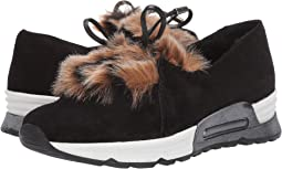 CO1 Black Zabby/Beige Pikka Faux Fur/Black Calf