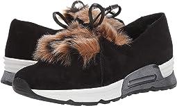 CO1 Black Zabby/Beige Pikka Faux Fur/Black Calf