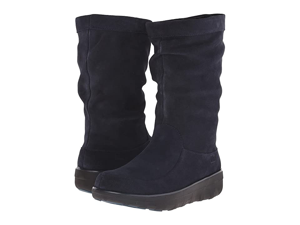 FitFlop Loafftm Slouchy Knee Boot (Supernavy) Women