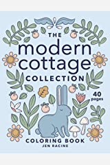 The Modern Cottage Collection Coloring Book Paperback