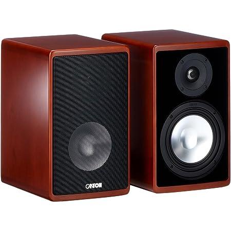 Canton Ergo 620 2 Wege Bassreflex Regallautsprecher 70 130 Watt Kirsch Paar Audio Hifi
