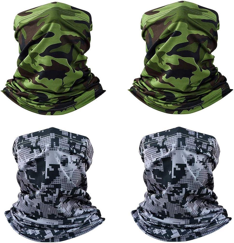 XLERHAZO Ice Silk Cool Neck Dus Headband Gaiter MaskBandana Face 25% OFF OFFicial mail order