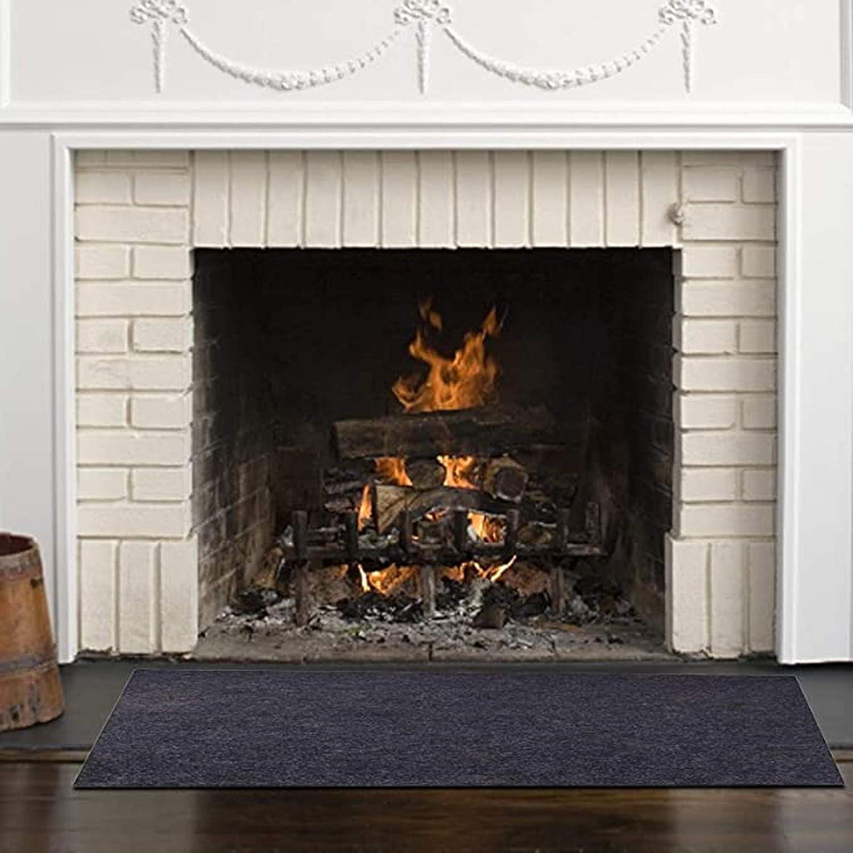 永遠の定番 Ussuma Fire Retardant Fiberglass Hearth Rectangle 迅速な対応で商品をお届け致します Carpet Firepl