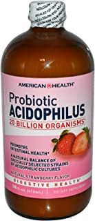 American Health Acidophilus Strawberry 16oz - Pack of 2