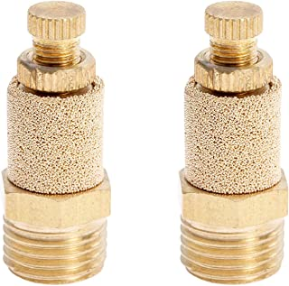 M6 Pack of 10 Sintered Bronze MettleAir BSL-M6 Pneumatic Muffler Filter