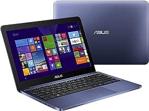 Asus Blue Premium 11.6-inch Laptop PC (2016 Model), HD LED Backlight Display, Intel Atom Z3735F 1.33GHz Processor, 2GB DDR3 Memory, 32GB Hard Drive, Wifi, Bluetooth, Windows 10