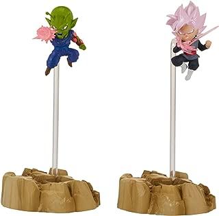 Dragon Ball Super – Dragon Stars Nano Super Saiyan Rosé Goku Black vs. Piccolo Figure 2-Pack