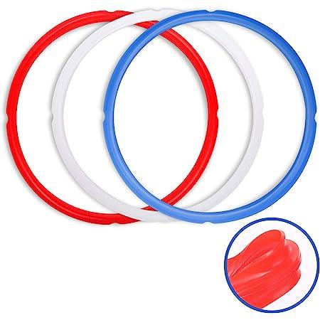 Genuine Instant Pot Sealing Ring 2-Pack 6 Quart Red//Blue