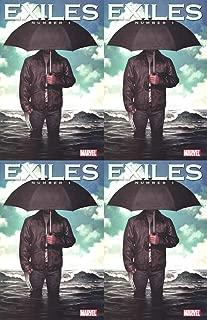 Exiles #1 Incentive Variant Volume 2 (2009) Marvel Comics - 4 Comics