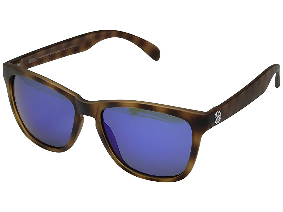 Sunski Madronas (Tortoise/Blue) Sport Sunglasses