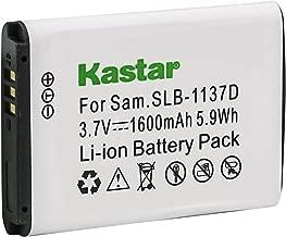 Kastar Battery 1 Pack for Samsung SLB-1137D Samsung i80 Samsung i85 Samsung i100 Samsung L74 Samsung Wide NV11 Wide NV24HD Wide NV30 Wide NV40 Wide NV100HD Samsung Wide NV103 Samsung Wide NV106 HD