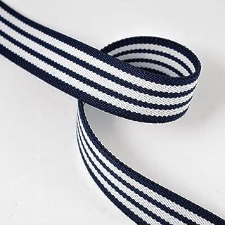 May Arts Elastic Gingham Ribbon Frill Trim Various lengths 19mm wide