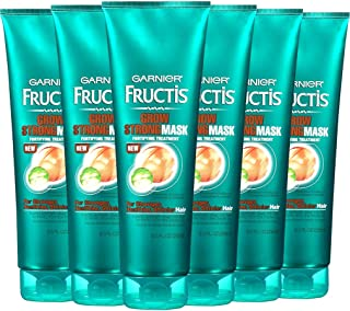 Garnier Fructis Grow Strong Fortifying Mask, 8.5 fl. oz. (Pack of 6)