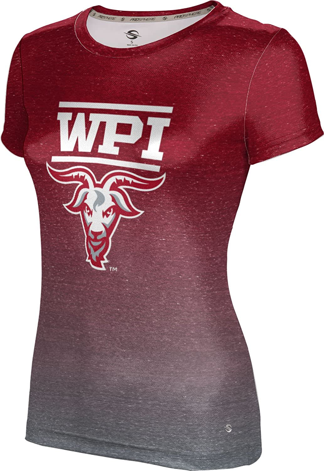 ProSphere Worcester Polytechnic Institute University Girls' Performance T-Shirt (Ombre)